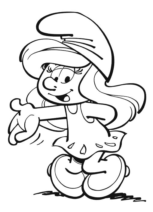 Colorear Dibujos De Los Pitufos The Smurfs