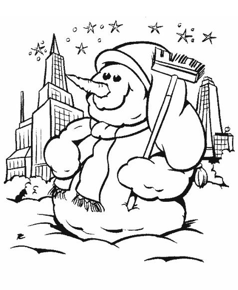 snögumma Målarbilder Målarbilder Vinter