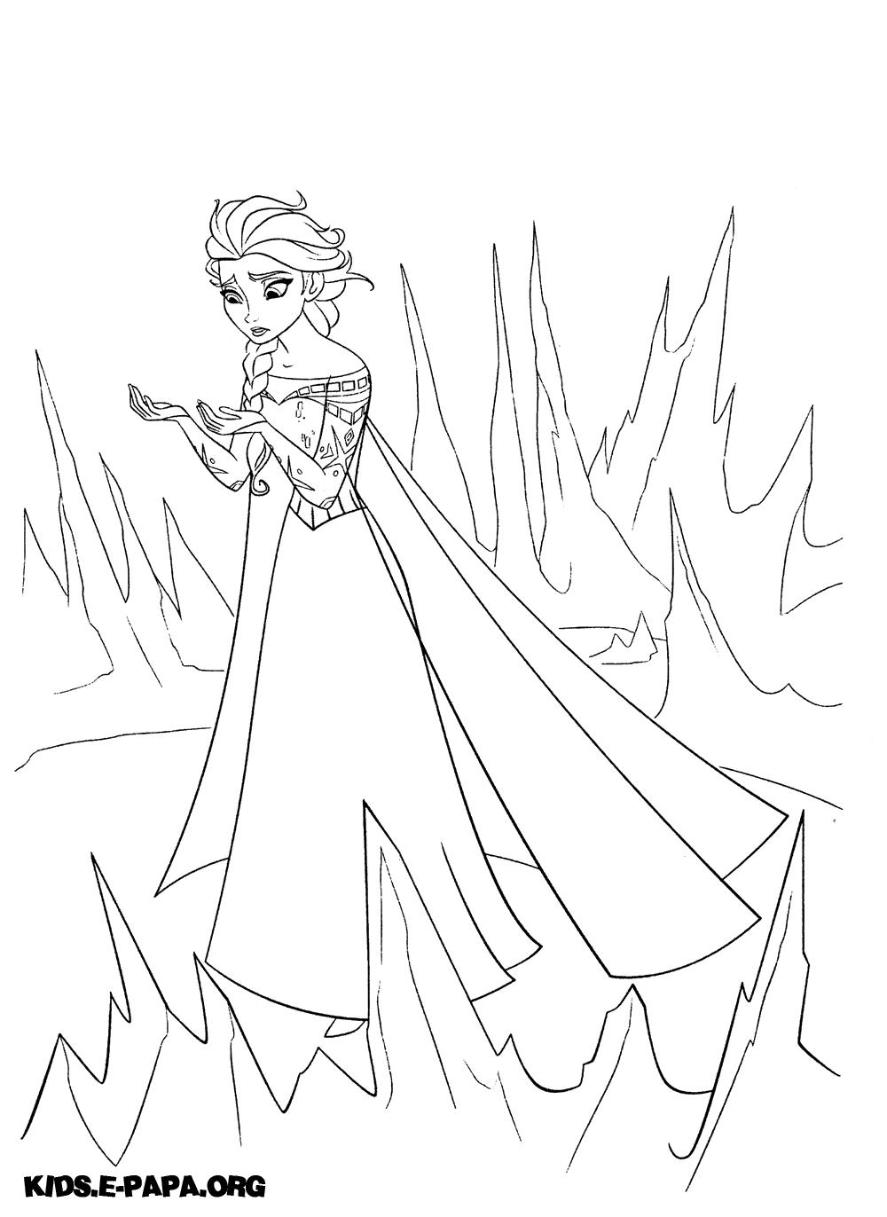 Elsa Målarbilder Målarbilder Frost
